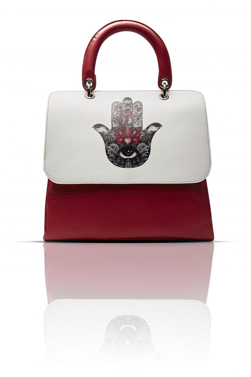 File Bag rossa by Regenesi