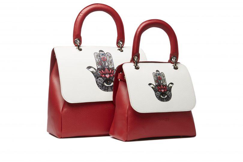 File Bag rosse by Regenesi