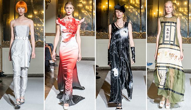 Shenzhen Fashion SS 2018: Ellassay, La Pargay, Xie Haiping e Ming Yuehe