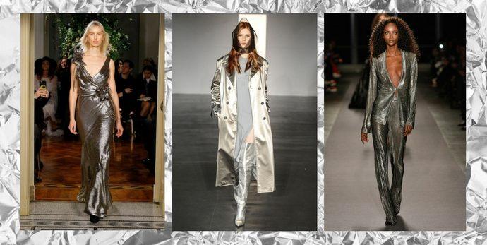 Look Ufficio Autunno 2015 : Tendenze autunno inverno silver look da copiare dalle