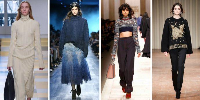 Tendenze moda autunno inverno 2017/18: la maglieria