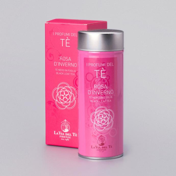 La Via del Tè I Profumi del Tè Rosa d'Inverno