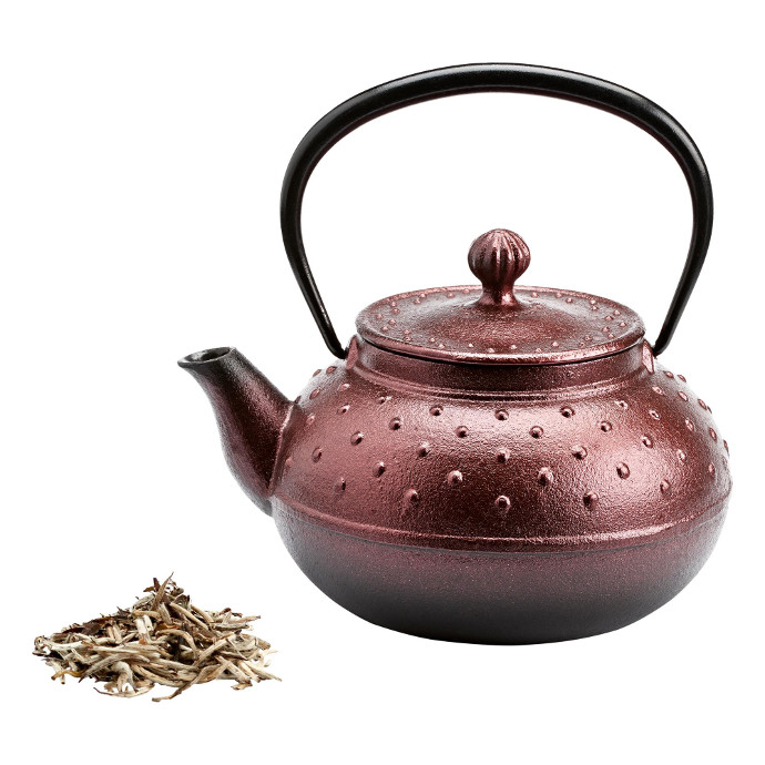 La Via del Tè Teiera di metallo