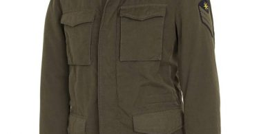 Manuel Ritz Field jacket d'ispirazione militare