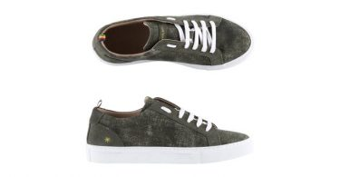 Manuel Ritz Sneakers in tessuto camouflage