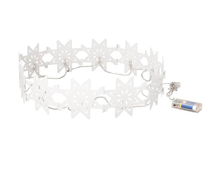 Stråla Decorazione fiocchi di neve Ikea