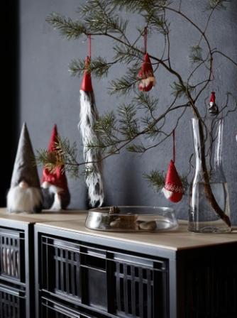 Vinter 2017 Decorazione da appendere, Babbo Natale Ikea