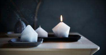 Vinter 2017 Set di 3 ceri senza profumo Ikea