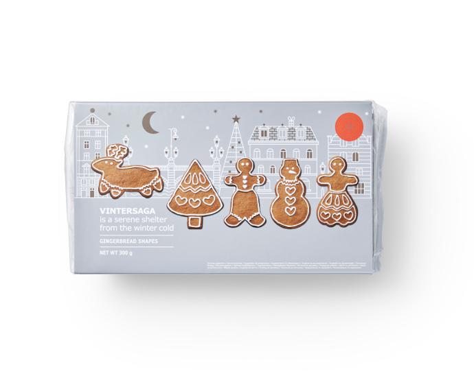 Vintersaga Biscotti natalizi allo zenzero Ikea