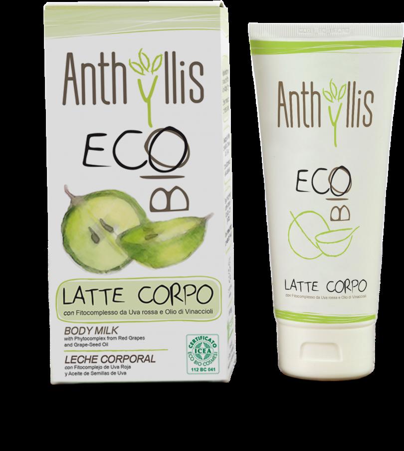 Latte Corpo Idratante di Anthyllis