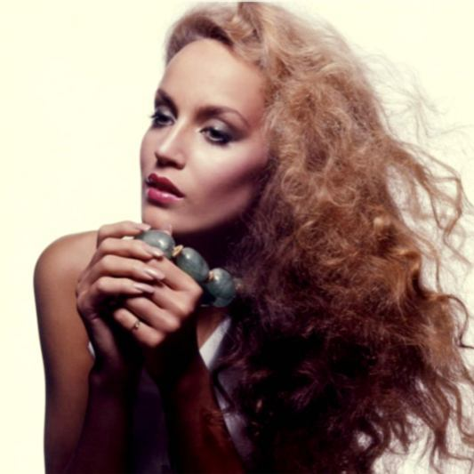 Modelle anni 70 Jerry Hall