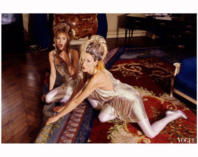 Modelle anni 90 Carla Bruni