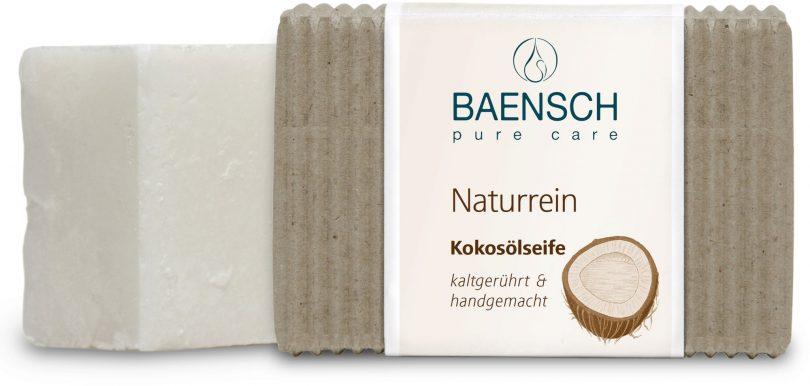 Saponetta all'olio di cocco naturale Baensch Pure Care