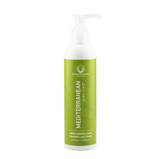 Crema rimodellante della linea Mediterranean Secret di Evegreen Life