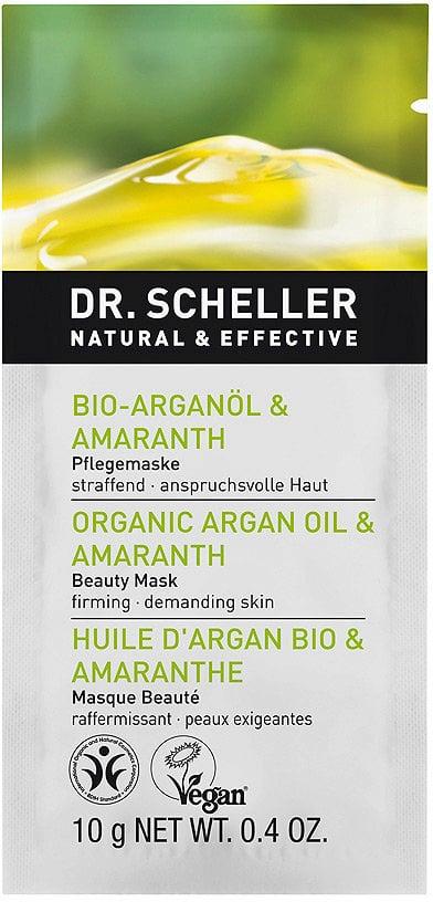 Argan Bio & Amaranto - Maschera Viso Dr. Scheller