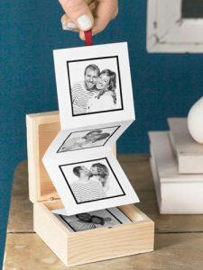 Box porta foto - fonte Pinterest