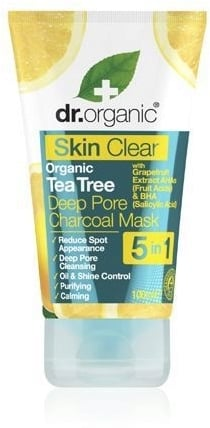 Organic Skin Clear Deep Pore Charcoal Face Mask di Dr. Organic