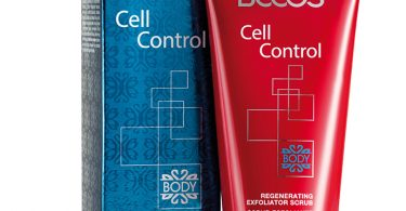 Scrub Esfoliante Rinnovatore della linea Cell Control di Becos