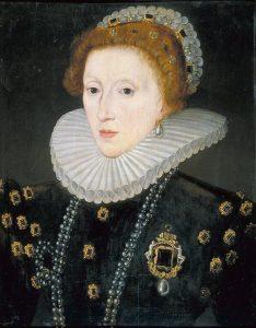Storia del mascara Elisabetta I