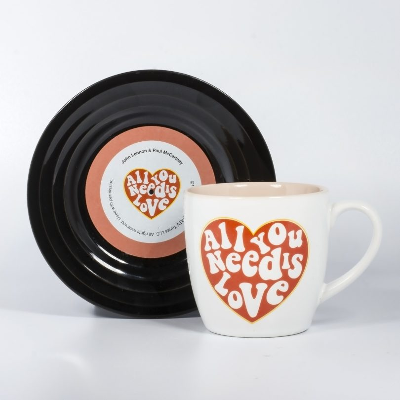 Tassen-Set Lyrical Mug Love