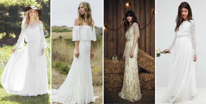 Come vestirsi a un matrimonio country chic
