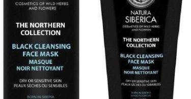 Black Cleansing Face Mask Natura Siberica