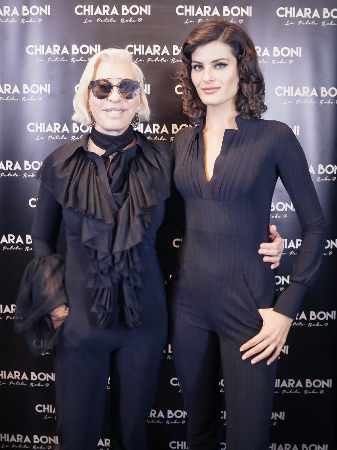 Chiara Boni e Isabeli Fontana