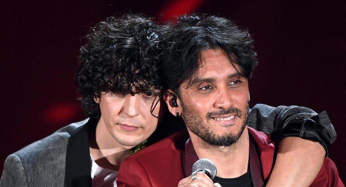 Ermal Meta e Fabrizio Moro Sanremo 2018