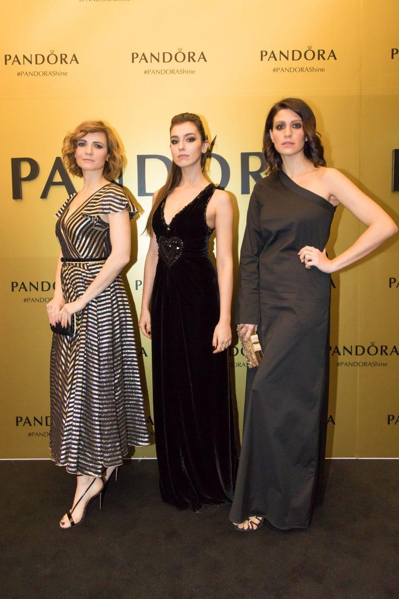 Party Pandora Camilla Filippi, Stella Egitto, Giulia Bevilacqua