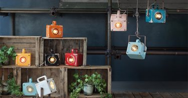Salone del Mobile 2018: lampade Retrò by Ferroluce