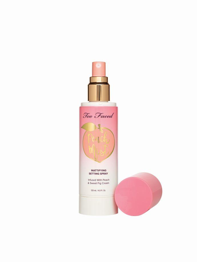 Too Faced Spray fissante e opacizzante Peach Mist