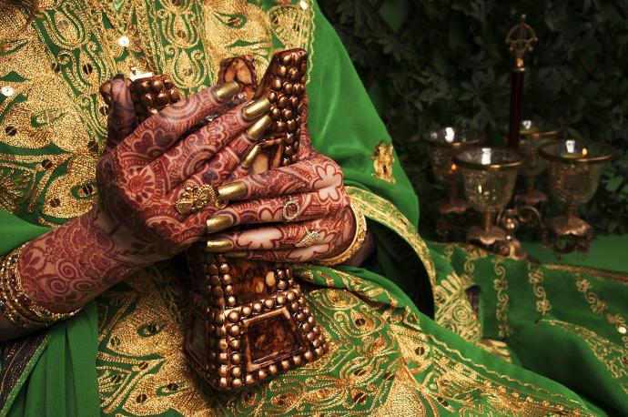 Come fare in casa un tatuaggio all'henné